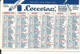 CAL310 - CALENDARIETTO 1992 - COCCOINA - Formato Piccolo : 1991-00