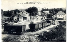 23.  CAMP DE LA COURTINE  -  LA GARE - La Courtine