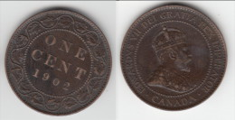 **** CANADA  - ONE CENT 1902 - 1 CENT 1902 GEORGES V **** EN ACHAT IMMEDIAT !!! - Canada