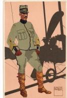 Aviateur Militaire Suisse - 1914 - Aviatori