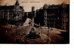 MAGDEBURG HASSELBACHPLATZ  (Scan Recto Et Verso) - Magdeburg