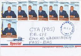 Zaire DR Congo 2012 Mbanza Ngungu President Kabila Cover - Covers