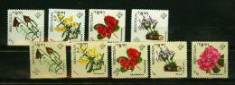 Bhutan 1967,9V ,flowers,bloemen,blumen,fleurs,flores,MNH/Postfris, (E2087) - Planten