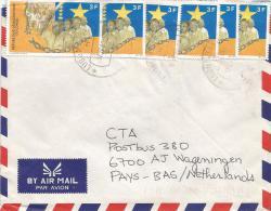 Zaire DR Congo 2000 Lubumbashi Code Letter H President Lumumba Kabila Cover - Democratische Republiek Congo (1997 - ...)