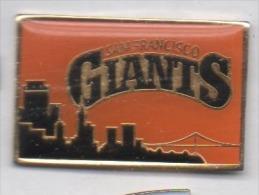Baseball , Giants San Francisco - Honkbal