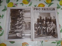 PRO FAMILIA N.8 1932 GINEVRA CONFERENZA DEL DISARMO BALBO LA VECCHIA STAZIONE DI MILANO - Società, Politica, Economia