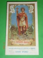 Libretto - S.ESPEDITO Martire Nella Chiesa Di S.Rocco In TORINO - Officina Grafica Ed.G.Astesano - Chieri 1954 - Religion & Esotérisme
