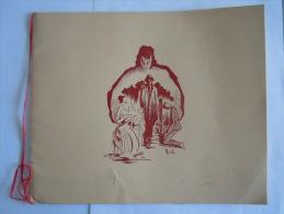 Programme Première Soirée De Gala Film La Tunique The Robe Avec Richard Burton  Bruxelles 22 Décembre 1953 Pub. Sabena - Programme