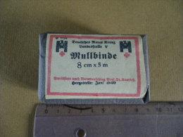 Mullbinde Landesstelle V  8cmX(M Juin 1940 Allemand (gris) - Equipement
