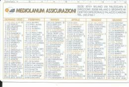 CAL362 - CALENDARIETTO 1995 - MEDIOLANUM ASSICURAZIONI - Calendari