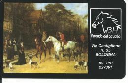 CAL364 - CALENDARIETTO 1995 - IL MONDO DEL CAVALLO - BOLOGNA - Calendari