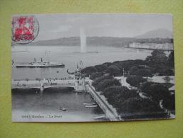 GENEVE. Le Port. - GE Ginevra