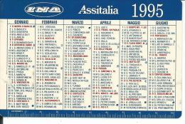 CAL366 - CALENDARIETTO 1995 - INA ASSITALIA - Calendari