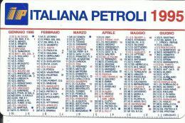 CAL368 - CALENDARIETTO 1995 - IP ITALIANA PETROLI - Calendari