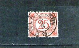 1895/1897 - Colis Postaux / Paketmarken Mi No 1 Et Yv No 1  Brun-rouge - Paquetes Postales