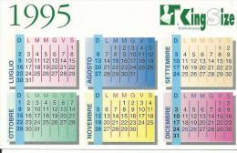 CAL380 - CALENDARIETTO 1995 - KING SIZE - Calendari