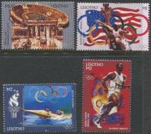 Olympic Games Lesotho 1996 #1163/6 Atlanta MNH ** - Summer 1996: Atlanta