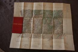 """Carte D´Etat Major Ministére De L´Intérieur, """"CLERMONT-L´HERAULT"""", 1892 - Cartes Géographiques"""