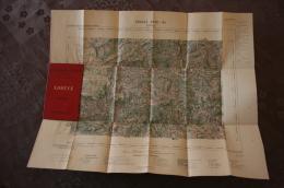 """Carte D´Etat Major Ministére De L´Intérieur, """"LODEVE"""", 1892 - Cartes Géographiques"""