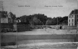 Sainte Marie : Plage Des Grandes Vallées - France