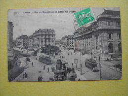 GENEVE. La Rue Du Mont Blanc. - GE Geneva
