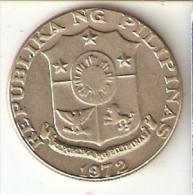 MONEDA DE FILIPINAS DE 50 SENTIMOS DEL AÑO 1972 (COIN) - Filipinas