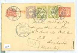 NED. INDIE * HANDGESCHREVEN BRIEFKAART Uit 1923 Van RANGKASBITOENG Naar SOERAKARTA (8054) - Niederländisch-Indien