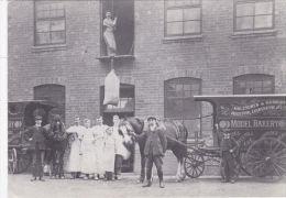 HALESOWEN 1910  -CO-OP MODEL BAKERY, PECKINGHAM STREET.  REPRINT - London Suburbs