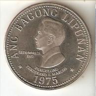 MONEDA DE FILIPINAS DE 5 PISO DEL AÑO 1975 (COIN) SIN CIRCULAR-UNCIRCULATED - Filipinas