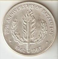 MONEDA DE PLATA DE FILIPINAS DE 1 PISO DEL AÑO 1967  (COIN) SILVER-ARGENT - Filipinas