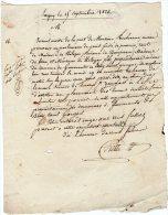 VP239 - LAGNY X GERMANTES X BUSSY  SAINT GEORGES 1828 - Lettre - Manuscrits