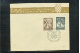 Yugoslawien / Yugoslavia / Yougoslavie 1941 Michel 437B-438C FDC - 1931-1941 Kingdom Of Yugoslavia