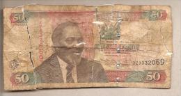 Kenya -  Banconota Circolata Da 50 Scellini P-47e - 2010 - Kenya