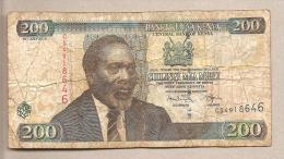 Kenya -  Banconota Circolata Da 200 Scellini P-49e - 2010 - Kenya
