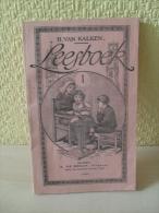 Livre Leesboek 1 De H.Van Kalken En 1930 - School