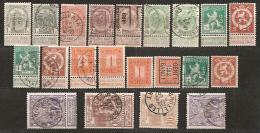 BELGIEN - AUKTIONSLOS - 5903 - 1893-1900 Schmaler Bart