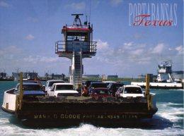 (318) USA - Ferry Boat Of Fort Aransas , Texas - Traghetti