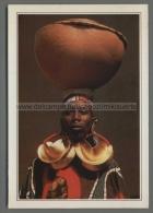 S9913 MALI DJENNE DONNA CON GLI ORECCHINI D ORO COSTUMI Cartoline Dal Mondo De Agostini - Mali