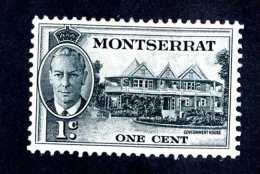 6577x)  Montserrat 1951 ~ -Sc # 114 ( Cat.$ .30 )  Mint*~ Offers Welcome! - Montserrat