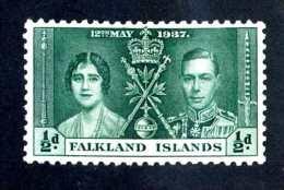6583x)  Falkland1937 ~ -Sc # 81 ( Cat.$ .25 )  Mint*~ Offers Welcome! - Falkland