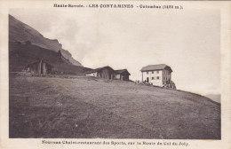 Les Contamines Colombaz , Chalet Restaurant Des Sports Sur La Route Du Col Du Joly - Les Contamines-Montjoie