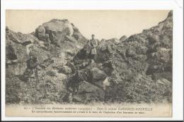 CPA Militaria : Dans Le Secteur De Carency Neuville - Bouleversement De Terrain à La Suite Explosion Fourneau De Mine - Non Classés