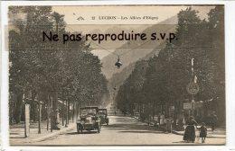 - 12 - LUCHON - Les Allées D'Etigny, Animation, Auto Ancienne, Voitures, Non écrite, TBE, Coins Ok, Scans, - Luchon