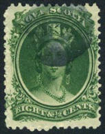 Nova Scotia #11 Used 8-1/2c Victoria From 1860-63 - Nova Scotia