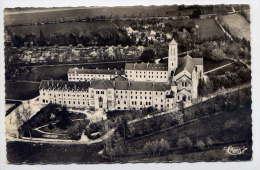 DOURGNE--Vue Aérienne,--Abbaye D'En Calcat ,cpsm 9 X 14  N° 1 A  éd Combier - Dourgne