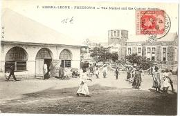 LBL20/2- SIERRA LEONE CPA DE FREETOWN A PARIS 6/11/1902 - Sierra Leone (...-1960)