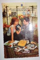 Couple - 1963 - Un Douillet Nid D'amour - Manche Disque - Collier De Fleur - Couples