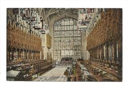 Cp, Angleterre, Windsor, St-George's Chapel, Choir East
