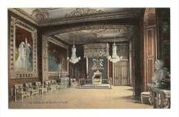 Cp, Angleterre, Windsor Castle, The Throne Room