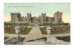 Cp, Angleterre, Windsor Castle, East Terrace